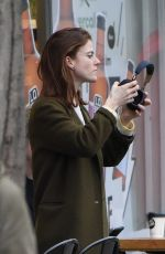 ROSE LESLIE Out and About in London 02/03/2020