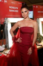 ROSELYN SANCHEZ at American Red Heart Association's Go Red for Women Red Dress Collection in New York 02/05/2020