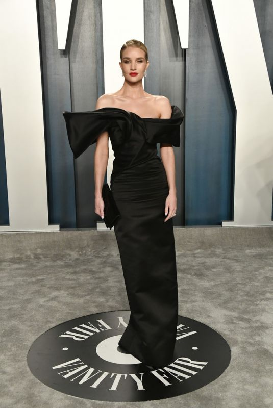 ROSIE HUNTINGTON-WHITELEY at 2020 Vanity Fair Oscar Party in Beverly Hills 02/09/2020