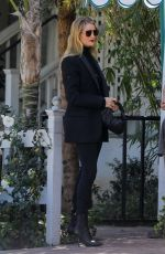 ROSIE HUNTINGTON-WHITELEY Out for Lunch in Los Angeles 02/25/2020