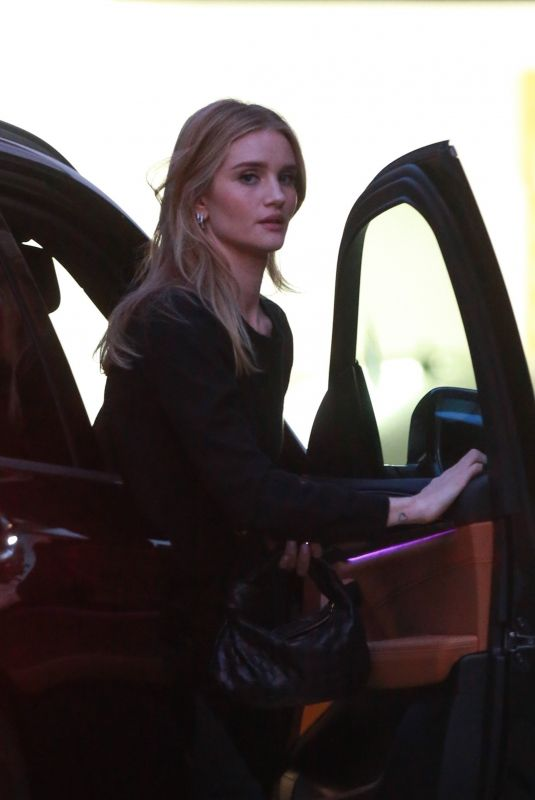 ROSIE HUNTINGTON-WHITELEY Out in Beverly Hills 02/18/2020