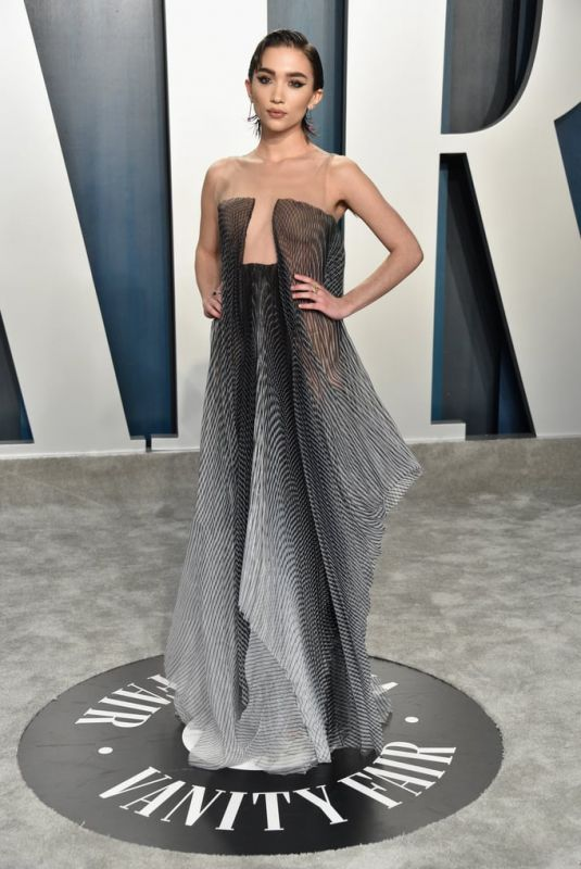 ROWAN BLANCHARD at 2020 Vanity Fair Oscar Party in Beverly Hills 02/09/2020