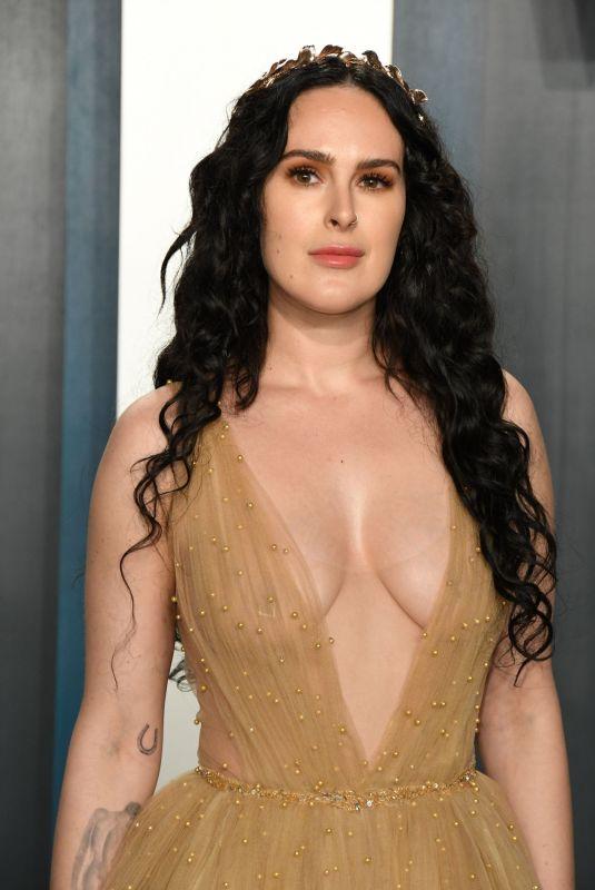 RUMER WILLIS at 2020 Vanity Fair Oscar Party in Beverly Hills 02/09/2020