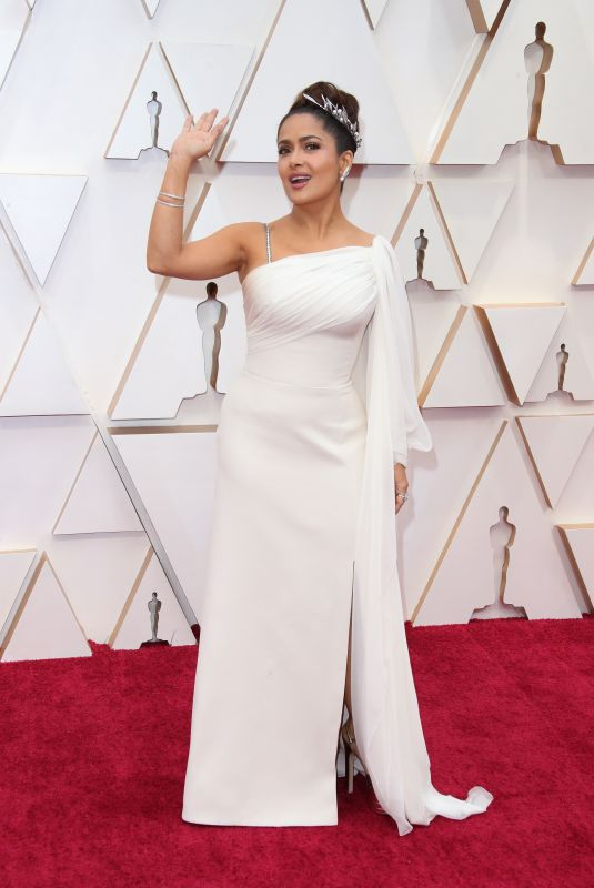 SALMA HAYEK at 92nd Annual Academy Awards in Los Angeles 02/09/2020