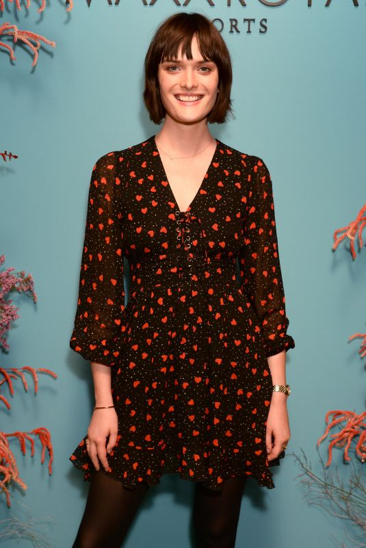 SAM ROLLINSON at Natalia Vodianova x Maxx Resorts Party in London 02/17/2020