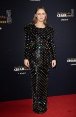 SARA FORESTIER at Cesar Film Awards 2020 in Paris 02/28/2020