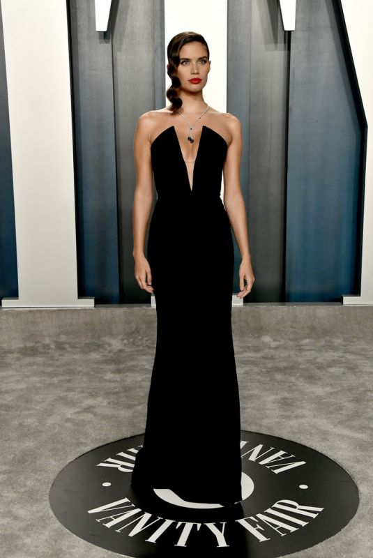SARA SAMPAIO at 2020 Vanity Fair Oscar Party in Beverly Hills 02/09/2020