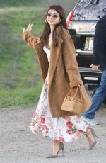 SARAH HYLAND at a Private Party a Winery in Ojai 02/16/2020