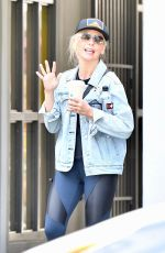 SARAH MICHELLE GELLAR Out and About in Brentwood 02/28/2020