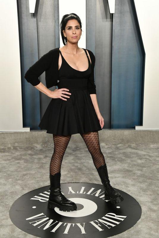 SARAH SILVERMAN at 2020 Vanity Fair Oscar Party in Beverly Hills 02/09/2020