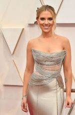 SCARLETT JOHANSSON at 92nd Annual Academy Awards in Los Angeles 02/09/2020