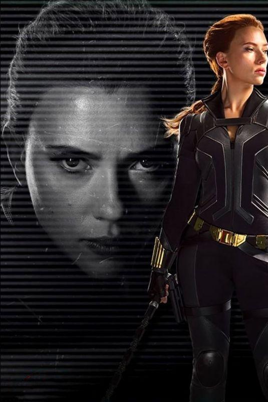 SCARLETT JOHANSSON – Black Widow (2020) Poster and Superbowl Trailer