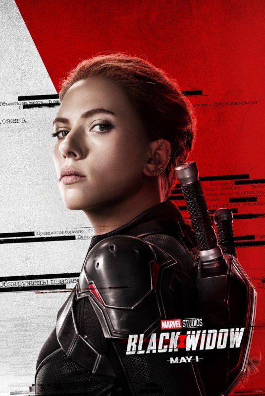 SCARLETT JOHANSSON - Black Widow Poster and Trailer, 2020