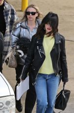 SELENA GOMEZ Out and About in Los Angeles 02/04/2020