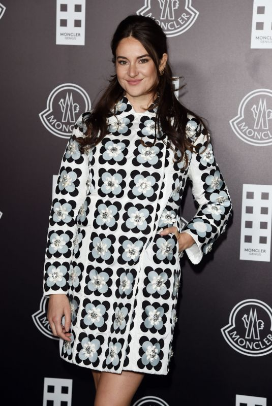 SHAILENE WOODLEY at Moncler Fashion Show in Milan 02/19/2020