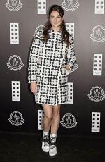 SHAILENE WOODLEY at Moncler Fashion Show in Milan 02/19/2020