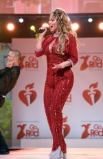 SHANIA TWAIN at American Red Heart Association's Go Red for Women Red Dress Collection in New York 02/05/2020