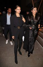 SHANINA SHAIK Arrives at Love Magazine Party in London 02/17/2020