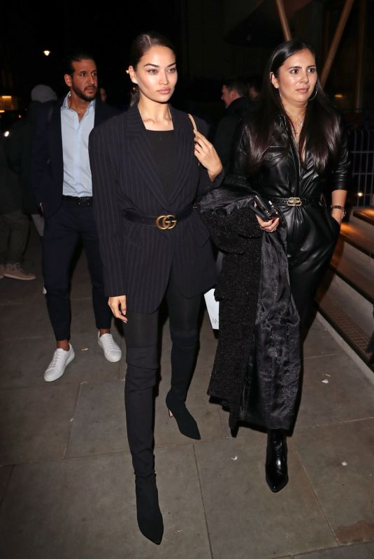 SHANINA SHAIK Arrives at Love Magazine Party in London 02/17/2020