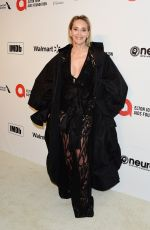 SHARON STONE at Elton John Aids Foundation Oscar Viewing Party in West Hollywood 02/09/2020