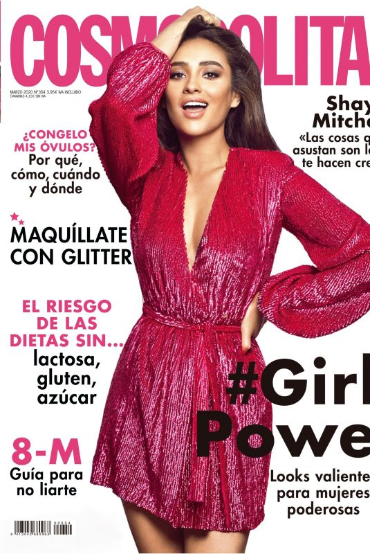 SHAY MITCHELL for Cosmopolitan Magazine, Spain March 2020