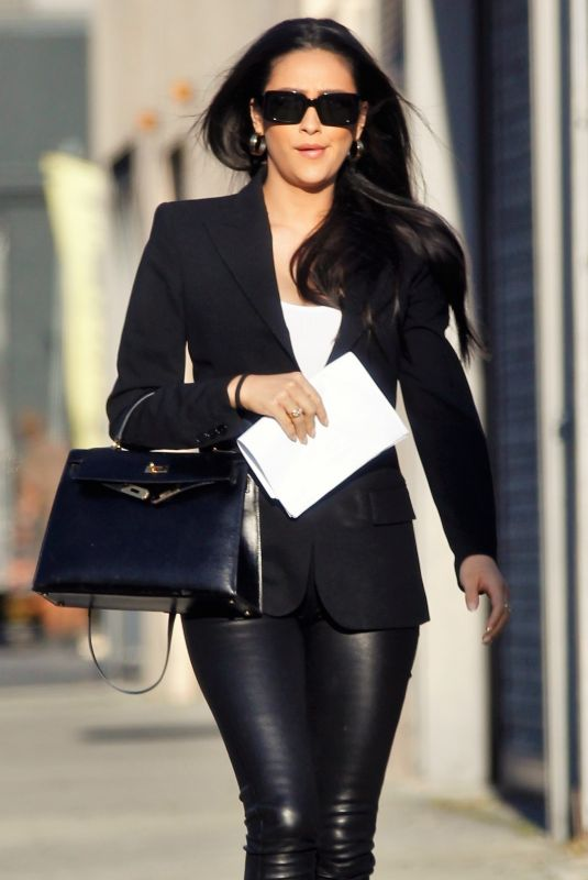SHAY MITCHELL Out and About in Culver City 02/06/2020