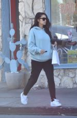 SHAY MITCHELL Out for Coffee in Studio City 02/01/2020