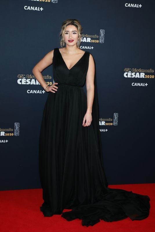 SHIRINE BOUTELLA at Cesar Film Awards 2020 in Paris 02/28/2020