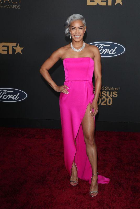 SIBLEY SCOLES at 51st Naacp Image Awards in Pasadena 02/22/2020