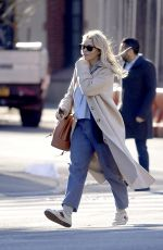 SIENNA MILLER Out and About in New York 02/19/2020