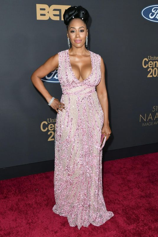 SIMONE MISSICK at 51st Naacp Image Awards in Pasadena 02/22/2020