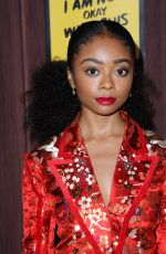 SKAI JACKSON at I Am Not Okay with This Premiere in Hollywood 02/25/2020