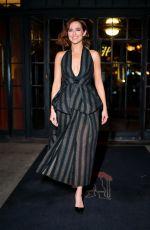 ZOEY DEUTCH Leaves Her Hotel in New York 02/12/2020