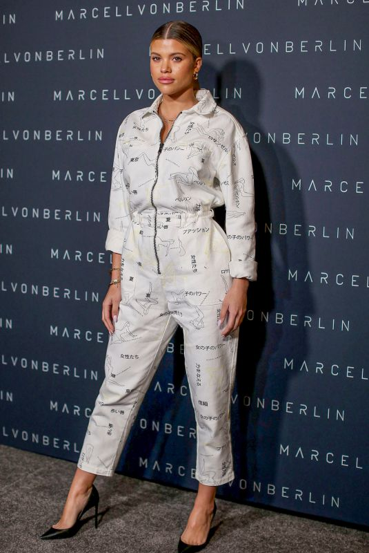 SOFIA RICHIE at Marcell Von Berlin Store Opening in Los Angeles 02/04/2020