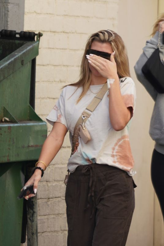 SOFIA RICHIE Leaves Doctor's Office in Beverly Hills 02/13/2020