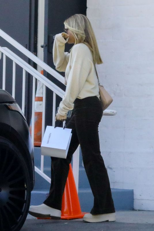 SOFIA RICHIE Out and About in Beverly Hills 02/11/2020