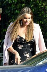 SOFIA VERGARA Leaves a Party in Los Angeles 02/15/2020