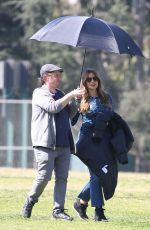SOFIA VERGARA on the Set of Modern Family in Los Angeles 02/20/2020