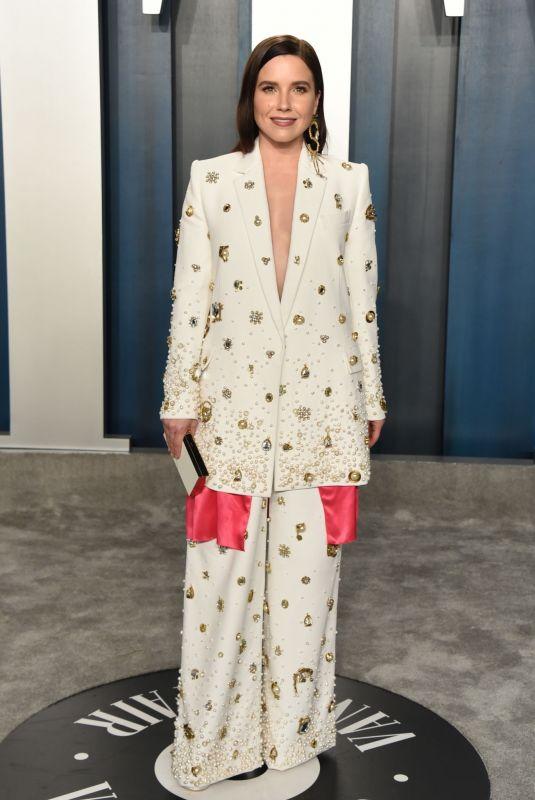 SOPHIA BUSH at 2020 Vanity Fair Oscar Party in Beverly Hills 02/09/2020