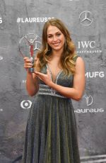 SOPHIA FLORSCH at Laureus Sports Awards 2020 02/17/2020