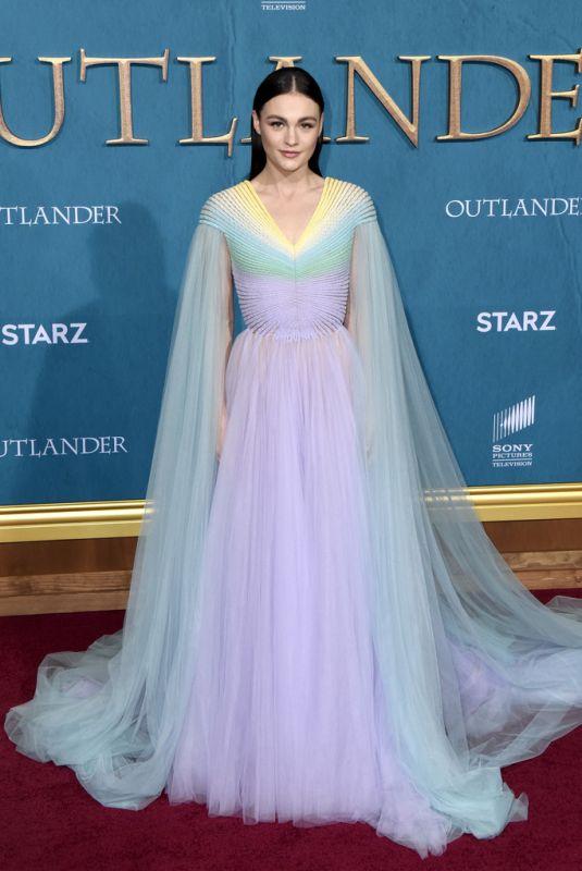 SOPHIE SKELTON at Outlander, Season 5 in Los Angeles 02/13/2020
