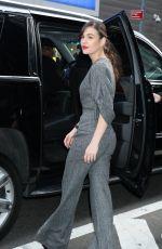 SOPHIE SKELTON Leaves Good Morning America in New York 02/12/2020