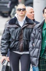 SOPHIE TURNER and Joe Jonas Out Shopping in Zuric 02/13/2020