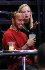 SOPHIE TURNER at Jonas Brothers Concert in Paris 02/22/2020