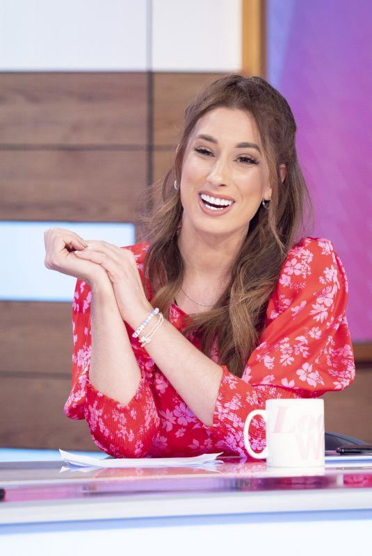STACEY SOLOMON at Loose Women TV Show in London 02/21/2020