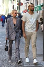 STELLA MAXWELL Out at Milan Fashion Week 02/20/2020