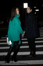 STEPHANIE SEYMOUR Leaves Marc Jacobs Fashion Show in New York 02/12/2020