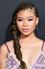 STORM REID at The Invisible Man Premiere in Hollywood 02/24/2020
