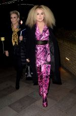 TALLIA STORM Arrives at Good Morning Britain in London 02/14/2020