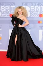 TALLIA STORM at Brit Awards 2020 in London 02/18/2020